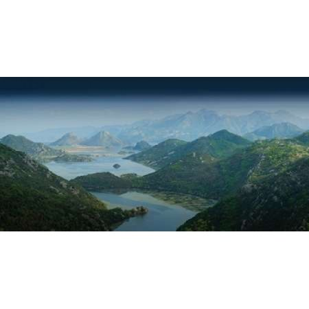 Lake Skadar Montenegro Canvas Art - Rod Edwards (10 x 20)