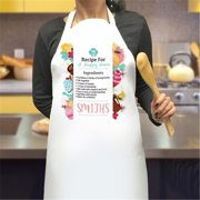 Monogramonline IN4327 Recipe for A Happy Home Apron