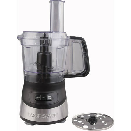 Farberware 4 Cup Food Processor With Stainless Steel Deco