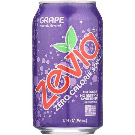 ZEVIA SODA GRAPE 6 PACK 72 FL OZ ()