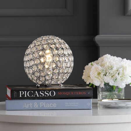 """Gemma 8.25"""" Acrylic/Metal LED Table Lamp, Clearby JONATHAN Y"""