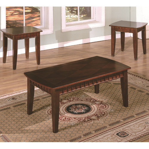 American Furniture Classics Dentil 3 Piece Coffee Table Set