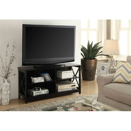 Convenience Concepts Oxford TV Stand, Multiple (Grey Oxford Collection)