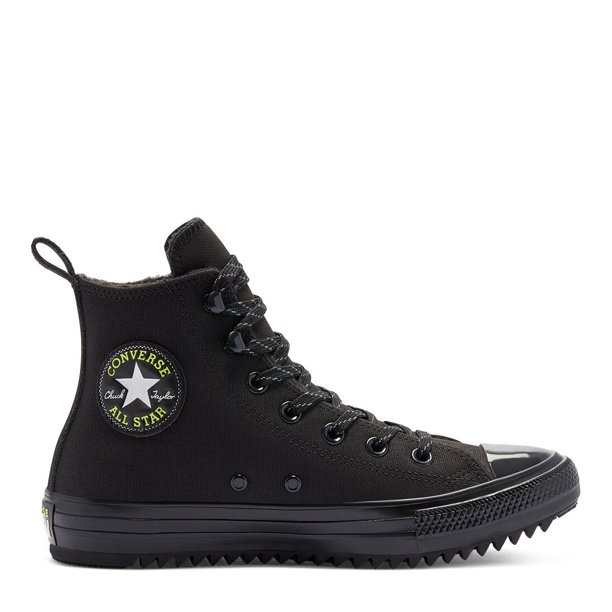 Converse Chuck Taylor All Star Hiker Women/Adult shoe size Women 10.5 Casual 169461C Black Lemon Venom Black