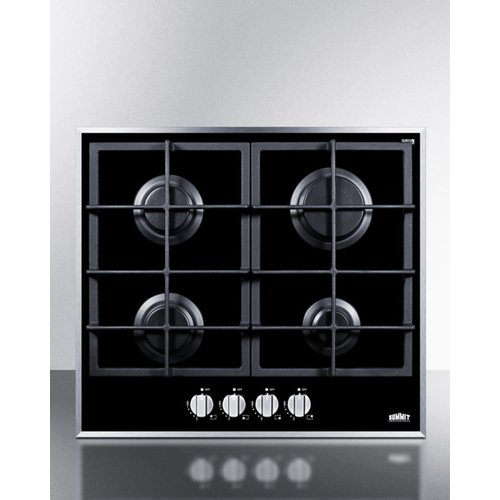 Summit Appliance 23.25'' Gas Cooktop with 4 Burners