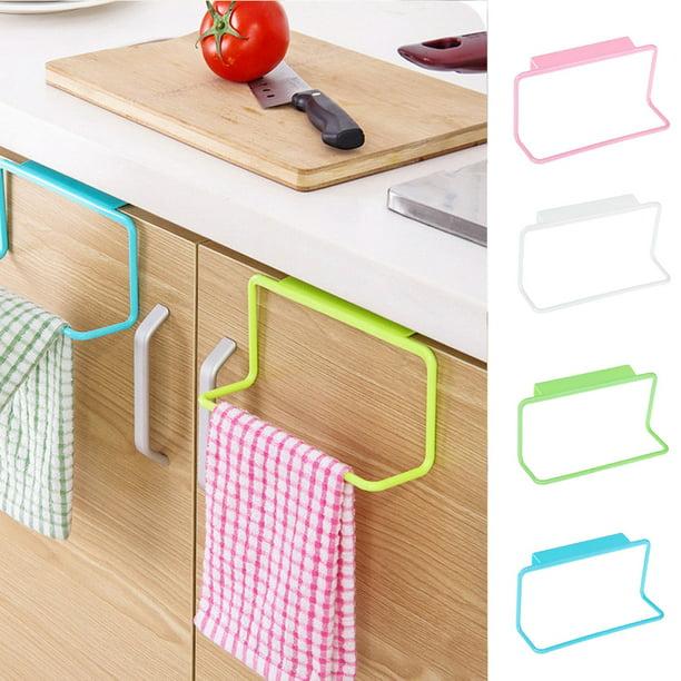 Details about  /Towel Rack Hanging Holder Organizer Cabinet Cupboard Hanger Bathroom Kitchen