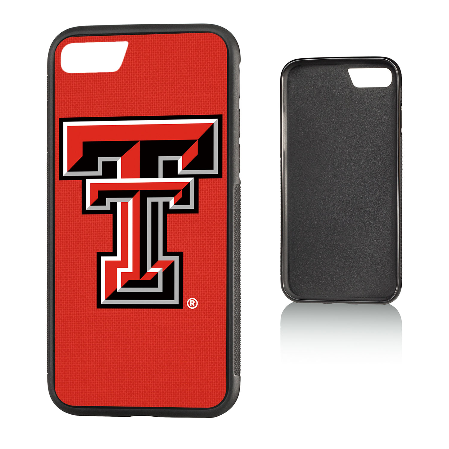 TT Texas Tech Red Raiders Solid Bump Case for iPhone 8 / 7