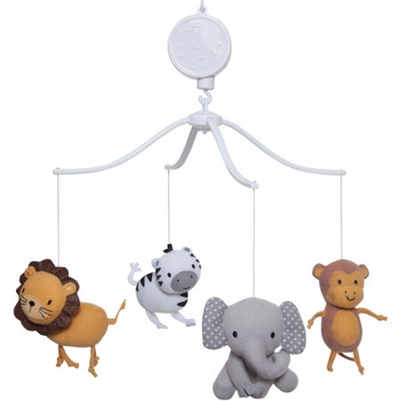 Lambs & Ivy Bedtime Originals Animal Choo Choo Express Musical Mobile