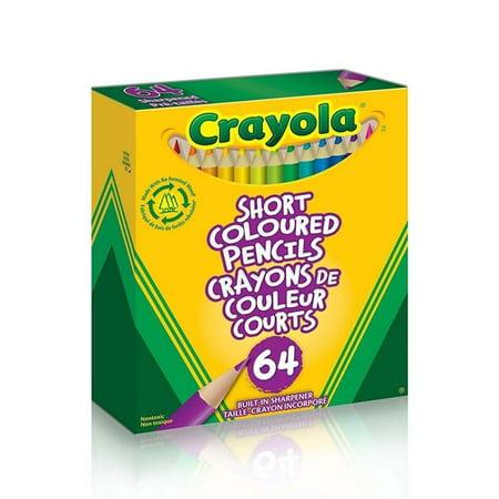 Crayola 64 Short Colored Pencils](Crayola Colored Pencils 64)