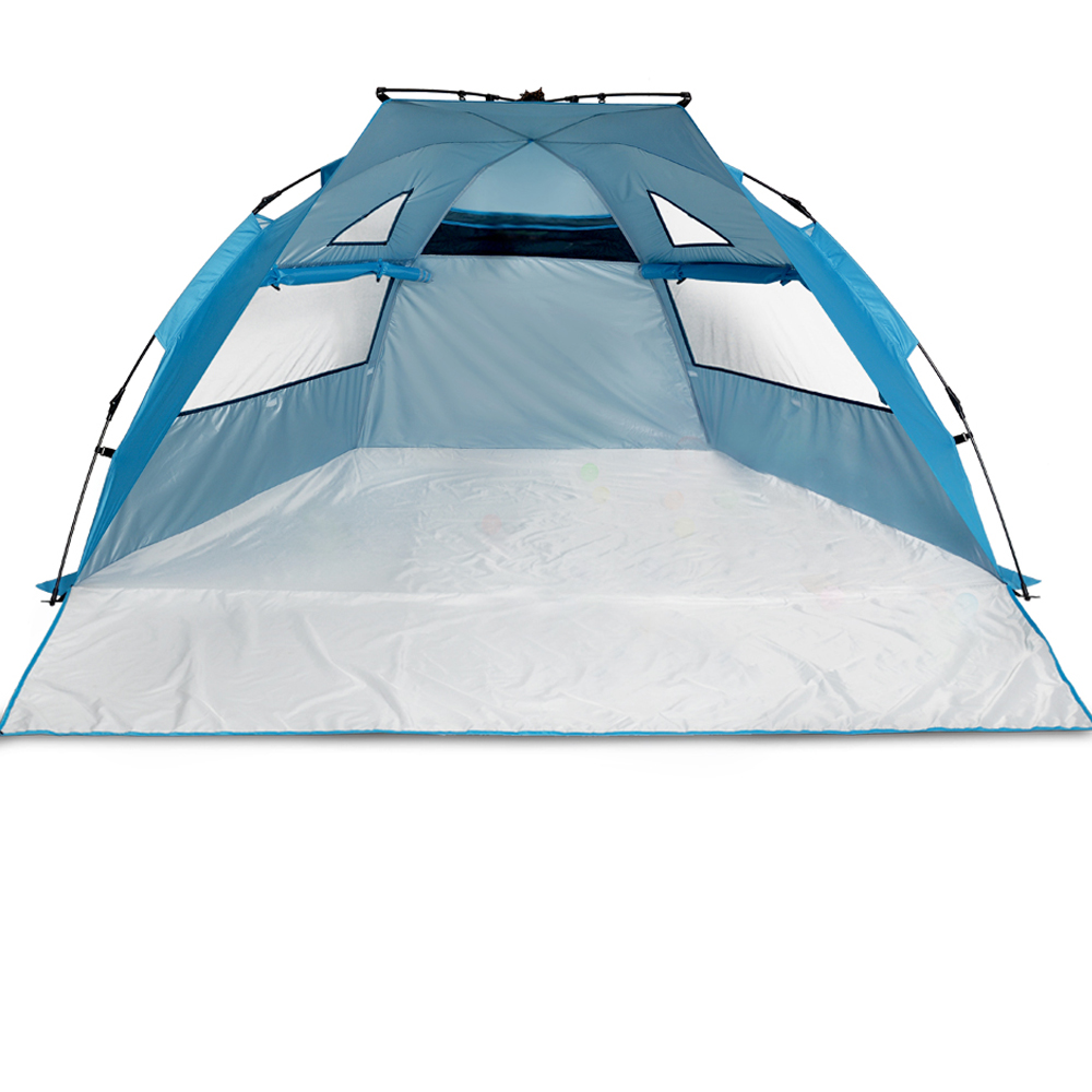 ODOLAND 94 x78  Instant Pop Up 3-4 Person Tent C&ing Cabin Shelter  sc 1 st  Walmart & Instant Tents