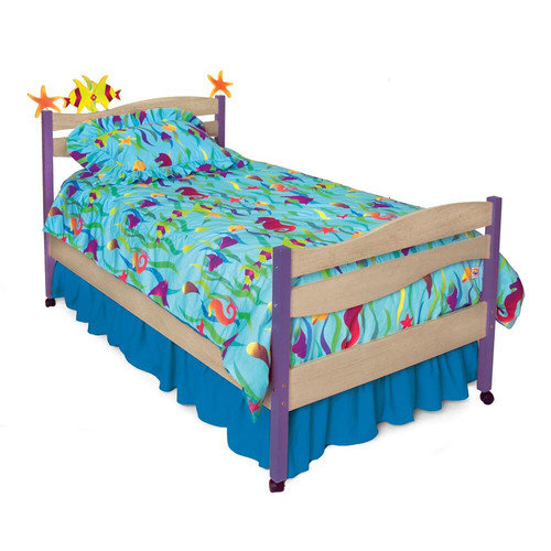 Room Magic Tropical Seas Twin Panel Bed