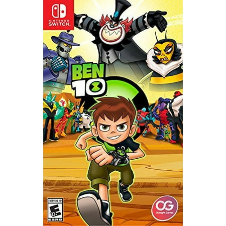 Ben 10, Outright Games, Nintendo Switch, 819338020013