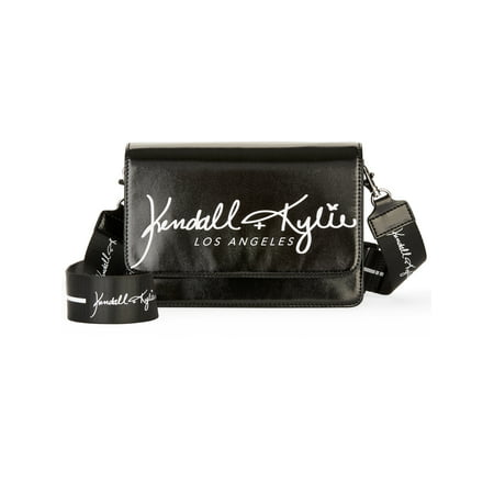 Kendall + Kylie for Walmart Black Crossbody Black Across Body Bag