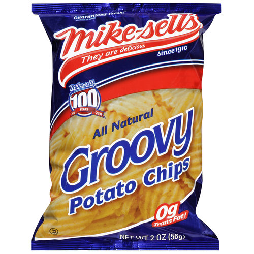 Mike-sell's All Natural Groovy Potato Chips, 2 oz