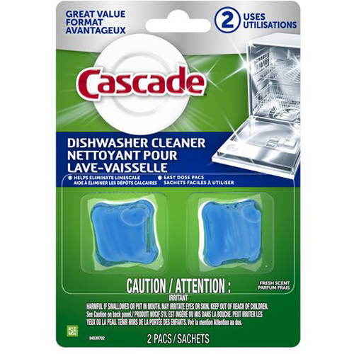 Cascade Dishwasher Cleaner, Fresh Scent, 2 Count