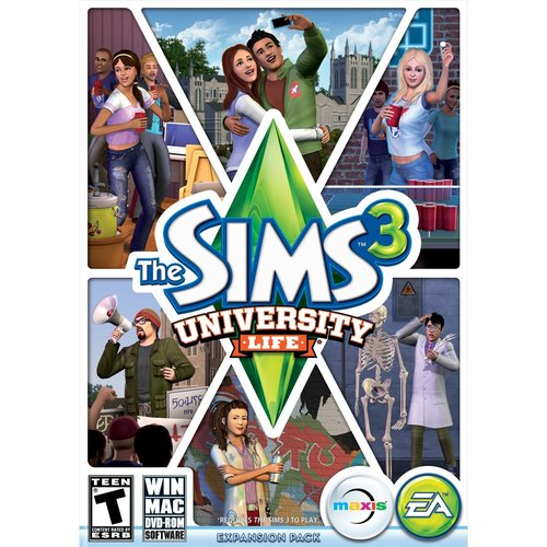 The Sims 3 University Life (PC)