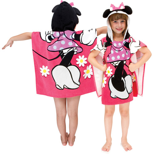 Minnie Hooded Poncho