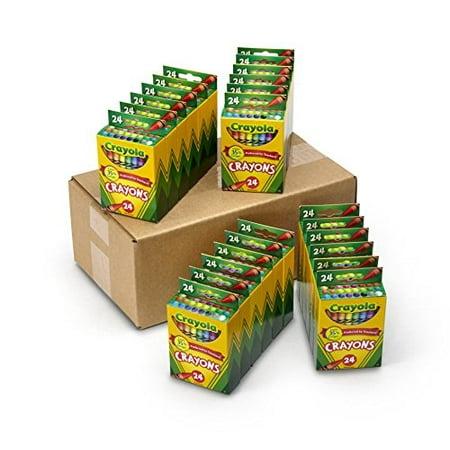 Crayola 24 Ct.  Crayons (Set of 24 Each) - Crayola Sets