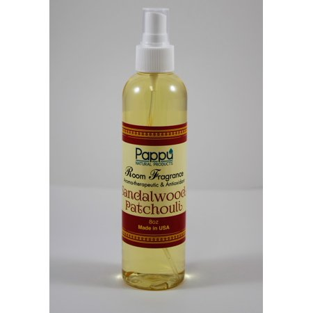 - Pappu Room Fragrance Mist 8 oz- Sandalwood Patchouli * Aromatherapeutic & Antioxidant
