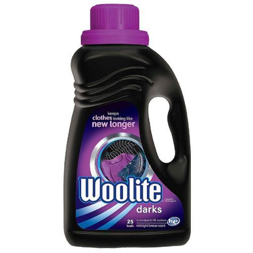 Woolite Darks Liquid Laundry Detergent, Midnight Breeze Scent 50 oz (Pack of 6)