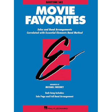 Essential Elements Movie Favorites : Eb Baritone