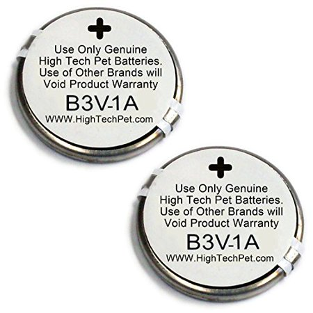High Tech Pet Single Electronic Collar Battery for Model MS-4 and MS-5,
