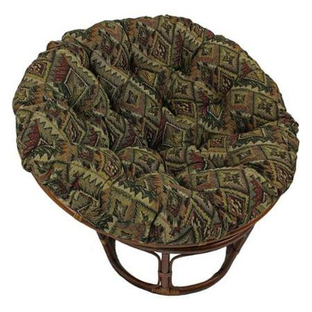 Blazing Needles  44-inch Tapestry Papasan Cushion ()