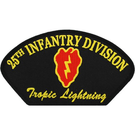 U.S. Army 25th Infantry Division Hat Patch 2 3/4