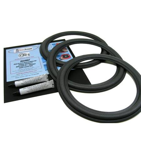JL Audio Triple Speaker Foam Edge Repair Kit, 12
