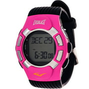 Everlast Women's HR1 Finger-Touch Heart Rate Monitor Watch, Black Plastic Band