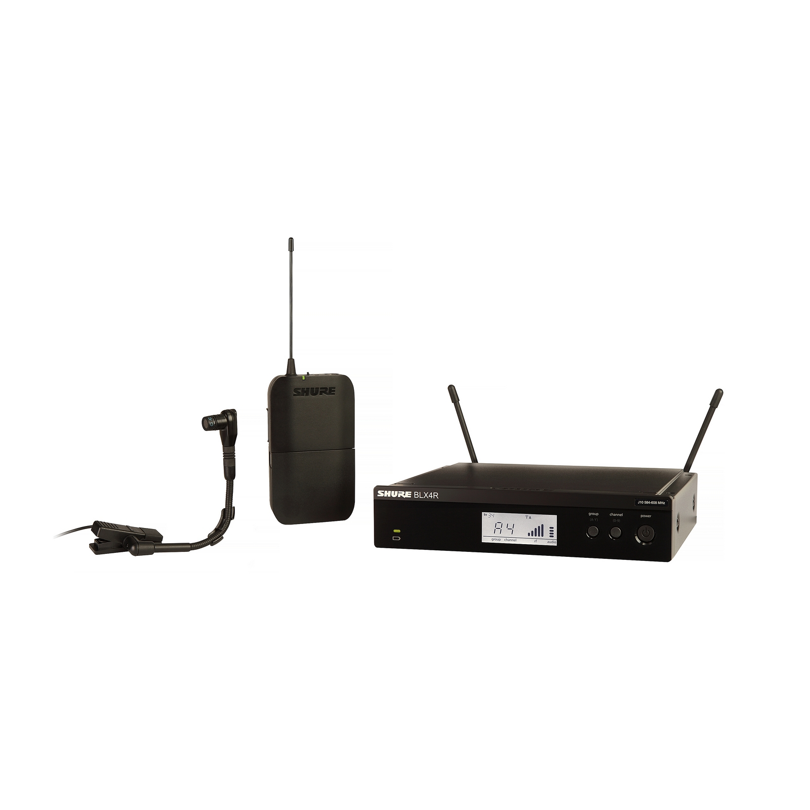 Shure BLX14R B98 H10 | BETA98H C Instrument Wireless System by
