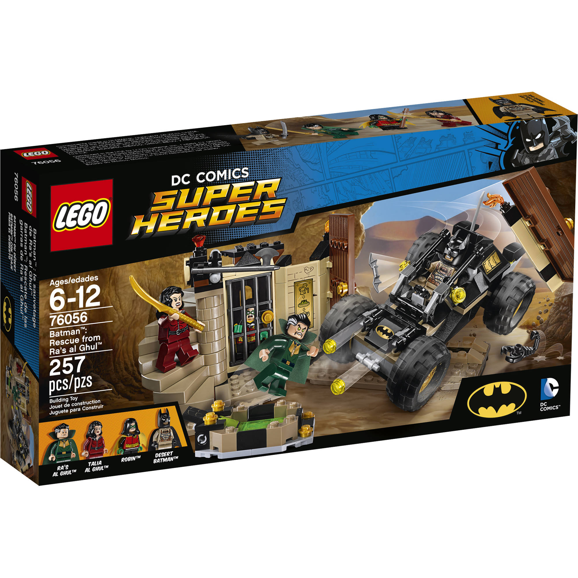 Lego Super Heroes Batman: Rescue from Ra's al Ghul 76056 by LEGO Systems, Inc.