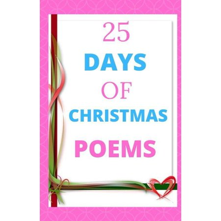 25 Days of Christmas Poems - eBook ()