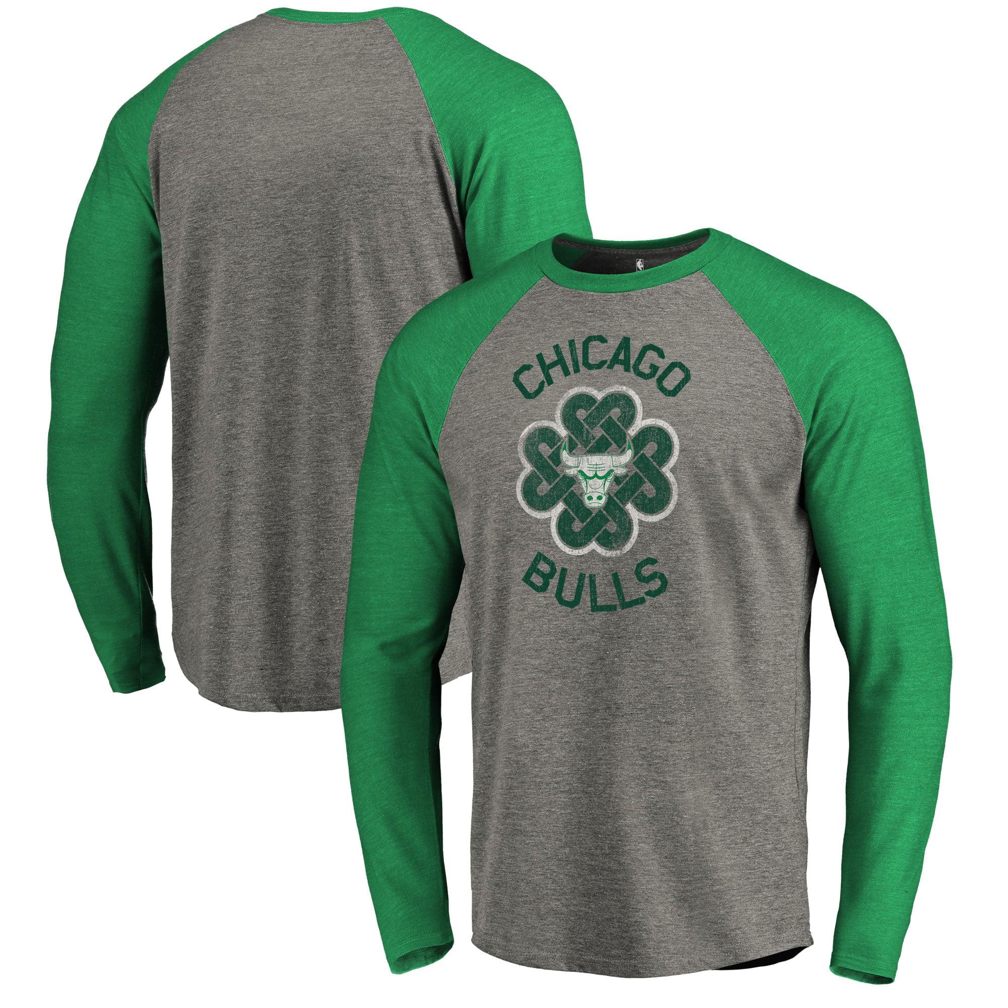 Seattle City Shamrock Tri-Blend V-Neck T-Shirt