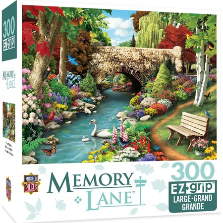 Memory Lane Willow Whispers Large 300 Piece EZ Grip Jigsaw Puzzle