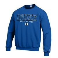 f569790d63a2 Product Image Duke Blue Devils Adult Arch Logo Classic Crewneck Sweatshirt  - Royal