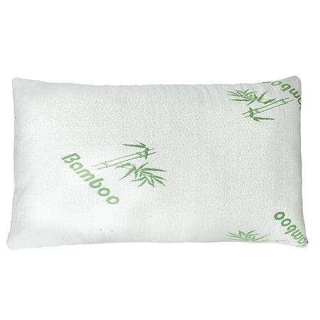 Premium Firm Hypoallergenic Bamboo Fiber Memory Foam Pillow King (Single/Nantong)