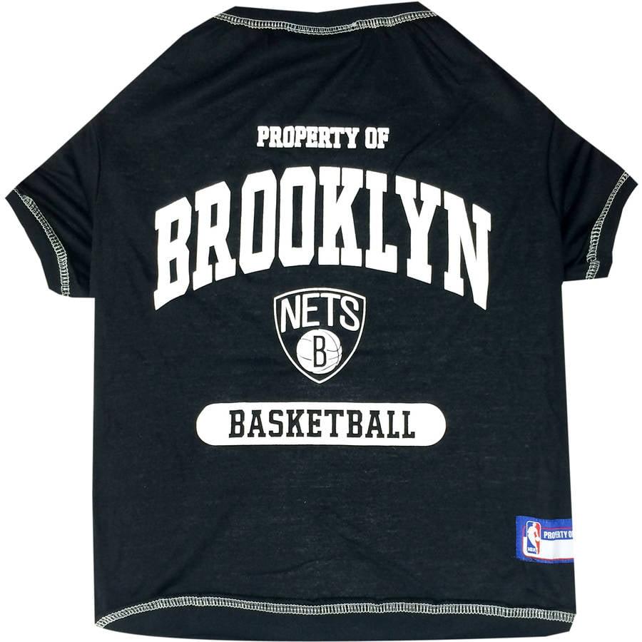 Pets First NBA Brooklyn Nets Pet T-shirt, Assorted Sizes
