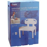 Apex Medical Carex Exact Level Universal Transfer Bath Bench, 1 ea