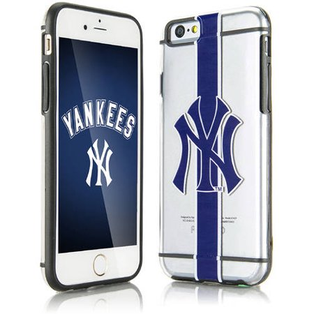official photos f0f58 c20b7 New York Yankees Acrylic Clear Case For Apple iPhone 6 6S Phone