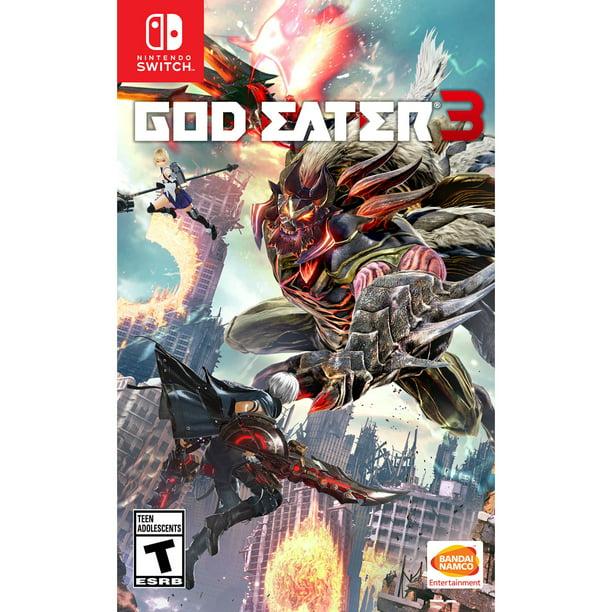 God Eater 3, Bandai Namco, Nintendo Switch, 722674840095