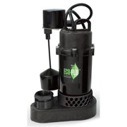 Eco Flo SPP50V 1/2 HP Thermoplastic Submersible Sump Pump
