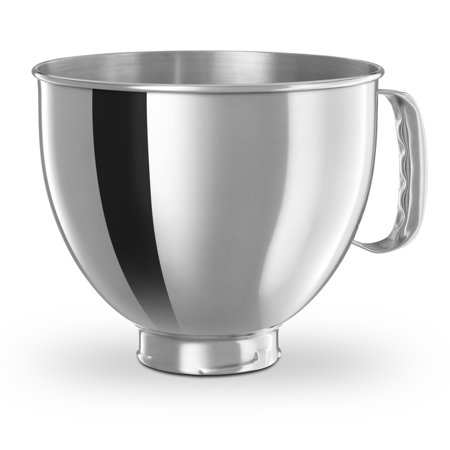 KitchenAid ® 5-Qt. Tilt-Head Polished Stainless Steel Bowl with Comfortable Handle (K5THSBP)