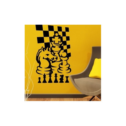 Style and Apply Chess Game Wall Decal