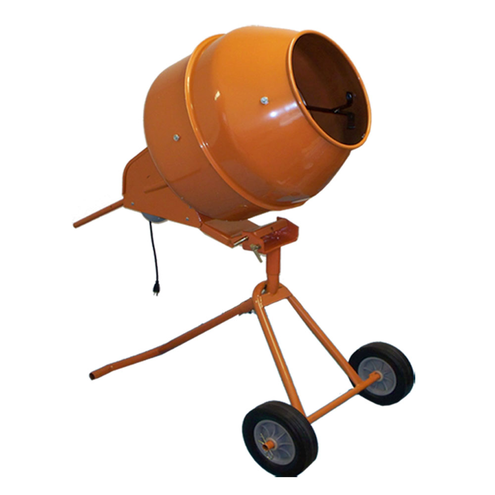 8 Cubic Ft. Tall Portable Cement Mixer Concrete Mortar Mixer by PROLINEMAX