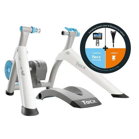 Tacx Vortex T2180 Smart Trainer Bundle: Tablet Mount + Sweat Guard +