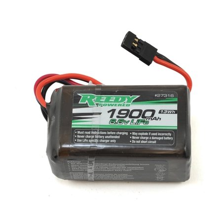 Reedy LiFe Hump Receiver Battery Pack (6.6V/1900mAh) (Hump Receiver Pack)