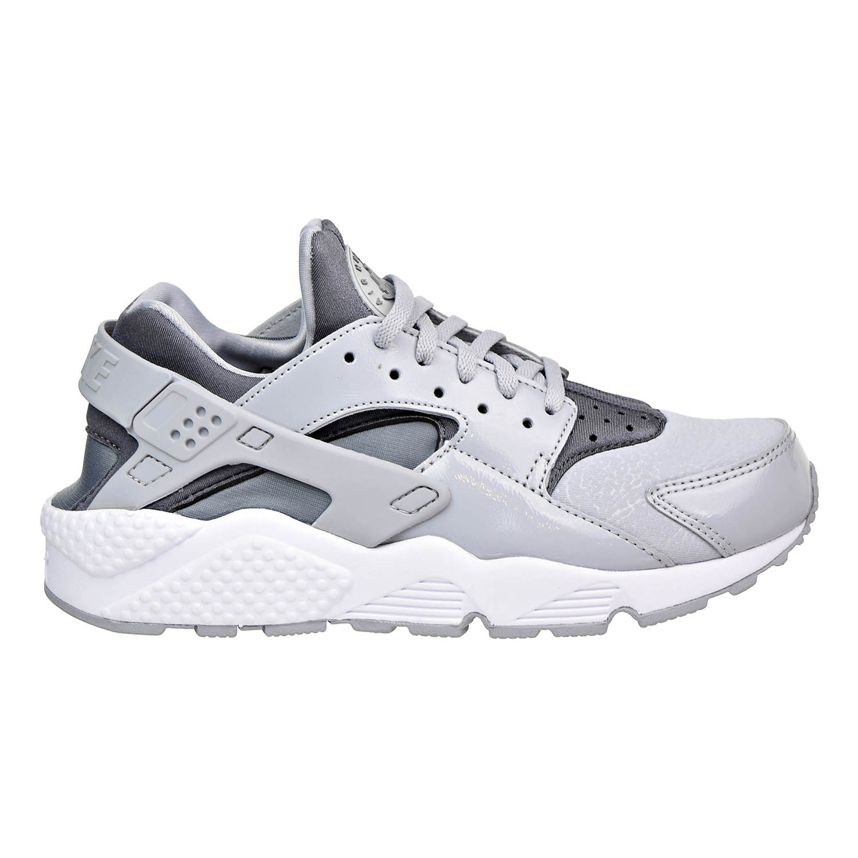 Nike Air Huarache Run Womens Shoes Wolf Grey/Cool Grey-Black 634835-023