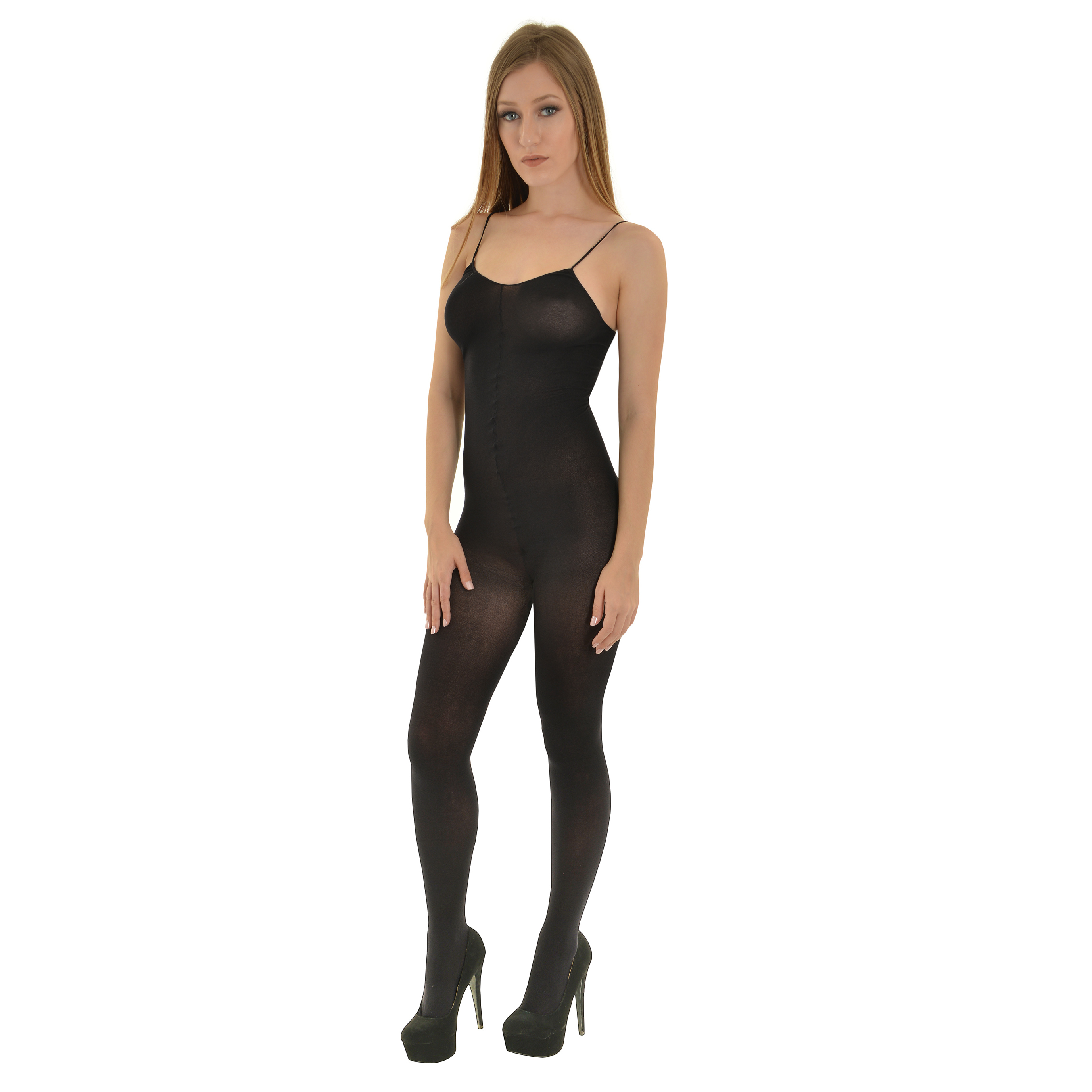 Women for tall Crotchless pantyhose