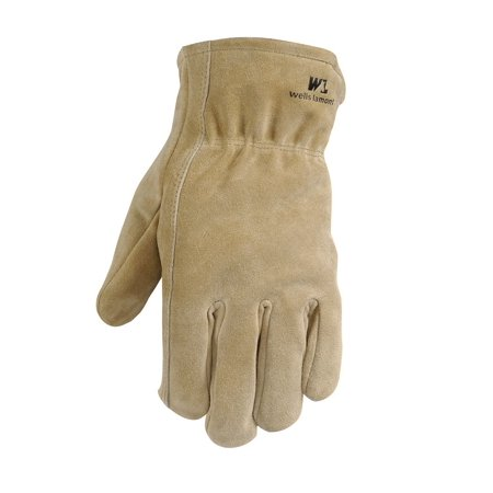 Wells Lamont 1063M Work Gloves, Split Cowhide & Thinsulate Lining, (Insulated Leather Work Gloves)